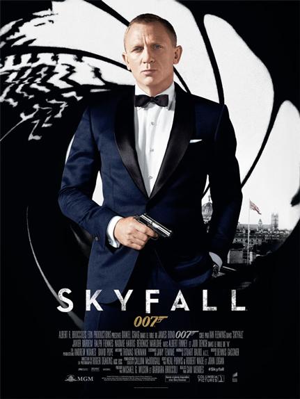 N°24 - Skyfall : 1,108 milliard de dollars de recettes