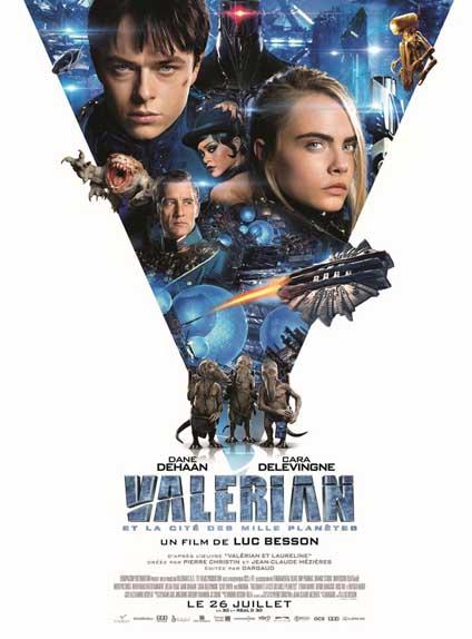 4ème : Valérian et la Cité des mille planètes - 3.54/5