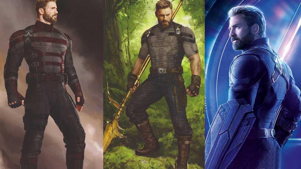 Avengers : Infinity War (Steve Rogers)