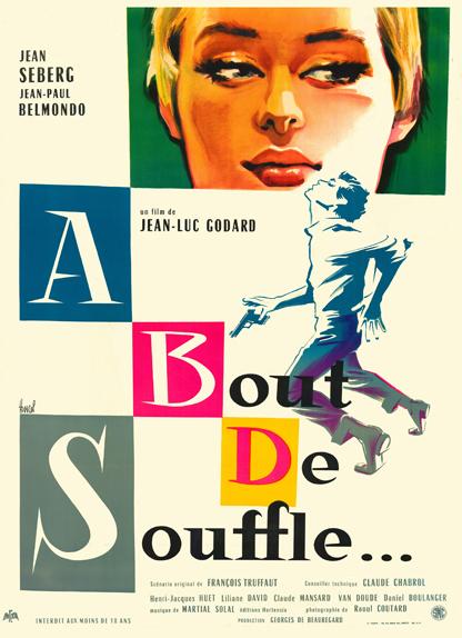 13e - A bout de souffle de Jean-Luc Godard (1960)