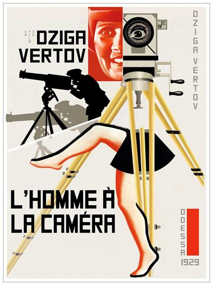 8e - L'homme à la caméra de Dziga Vertov (1929)
