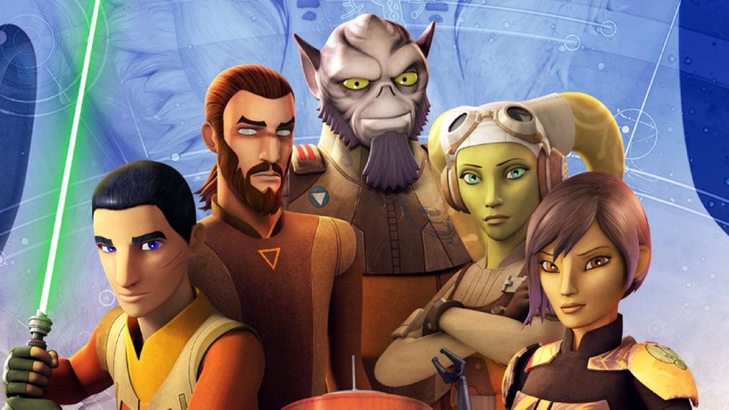Star Wars Rebels (2014, 4 saisons)