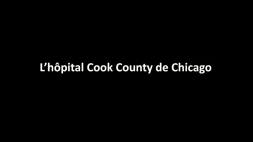 Quelle série médicale se cache derrière le nom de cet hôpital ?