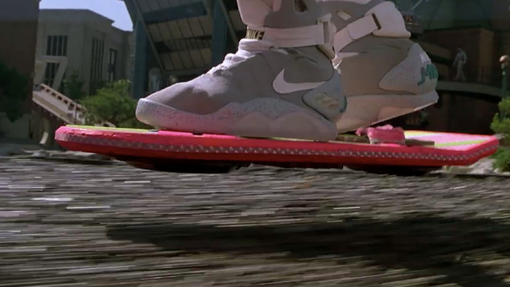 L'hoverboard