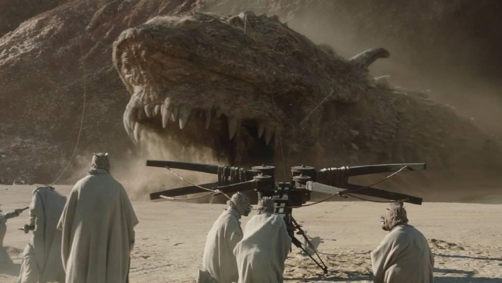 Le dragon Krayt (The Mandalorian)
