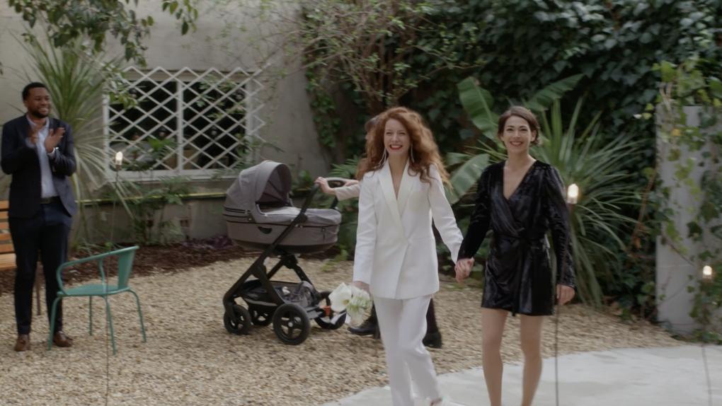 Elise (Malya Roman) et Sofia (Marie-Clotilde Ramos Ibañez)
