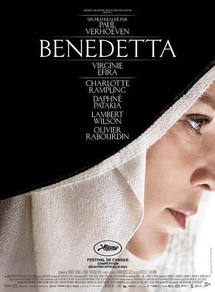 Benedetta avec Virginie Efira, Charlotte Rampling, Daphne Patakia...