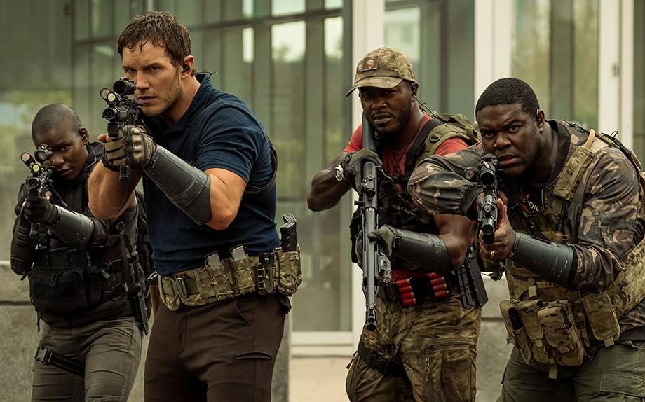 The Tomorrow War avec Chris Pratt, Yvonne Strahovski, J.K. Simmons...