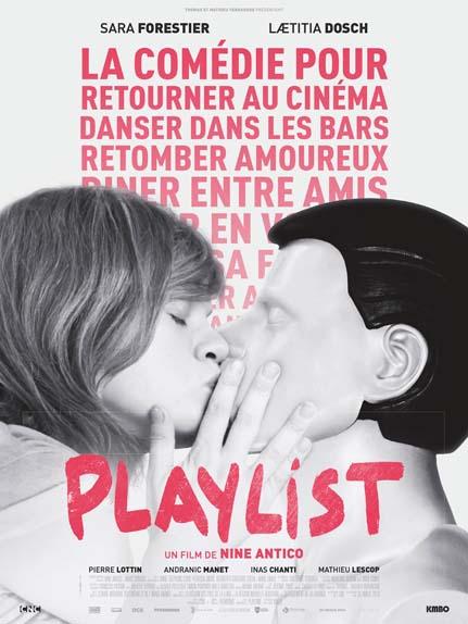 Playlist avec Sara Forestier, Laetitia Dosch, Pierre Lottin....
