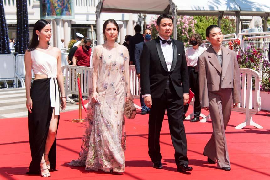 Sonia Yuan, Reika Kirishima, Ryusuke Hamaguchi et Toko Miura