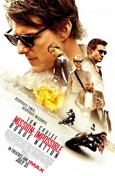 #8 - Mission : Impossible - Rogue Nation (2015)
