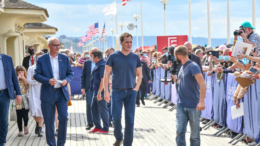 Michael Shannon inaugure sa cabine de plage