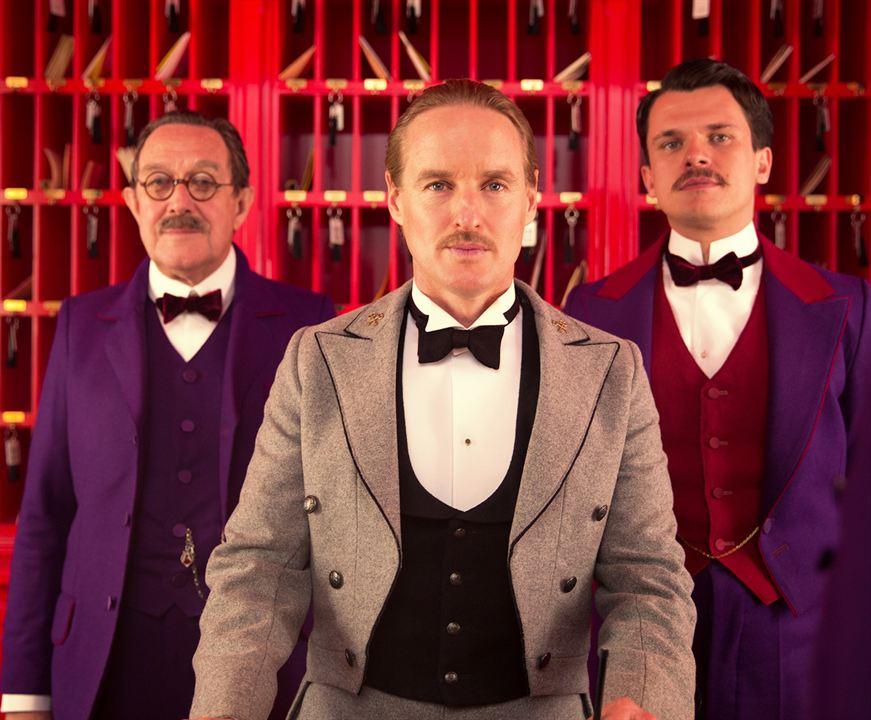 The Grand Budapest Hotel: Owen Wilson