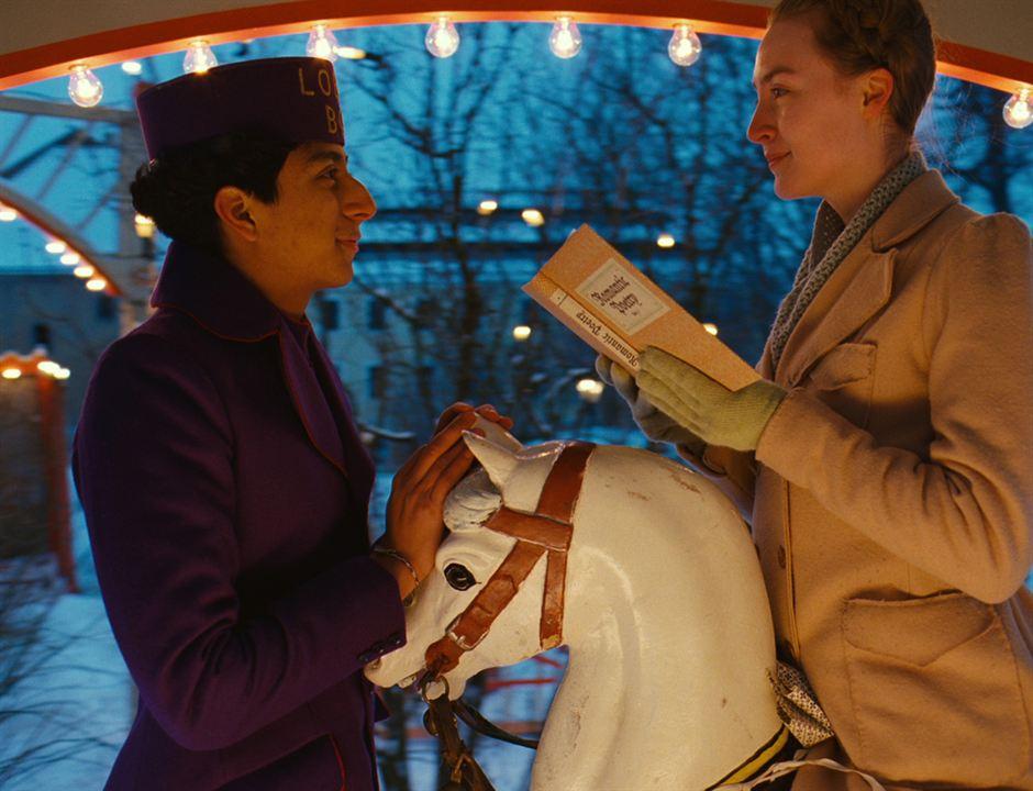 The Grand Budapest Hotel: Saoirse Ronan, Tony Revolori