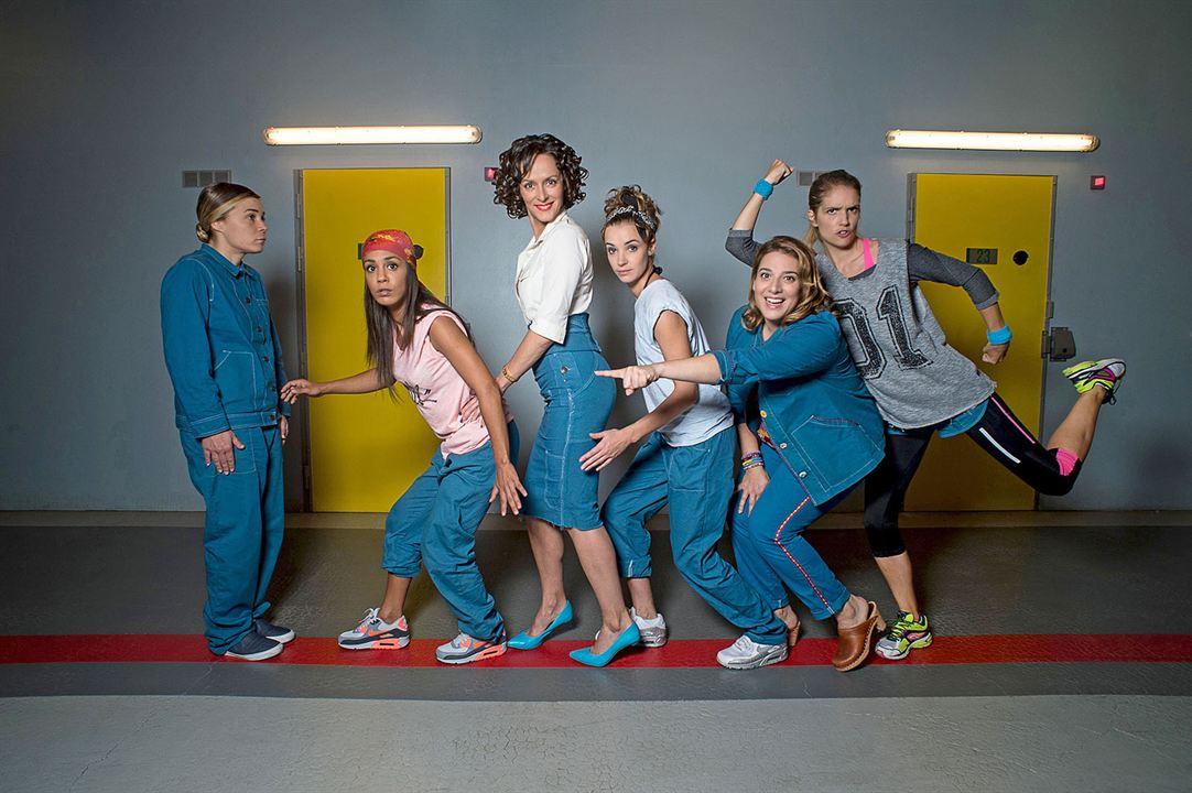Photo Alice Belaïdi, Blanche Gardin, Claude Perron, Clémence Faure, Laurence Arné