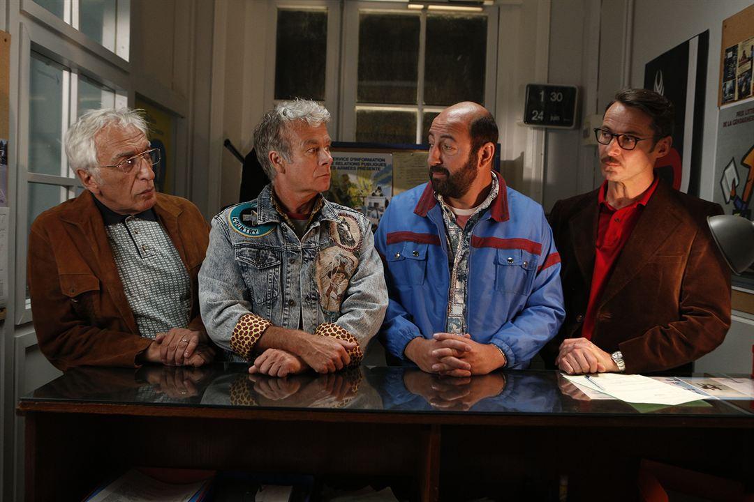 Bis: Gérard Darmon, Kad Merad, Julien Boisselier, Franck Dubosc