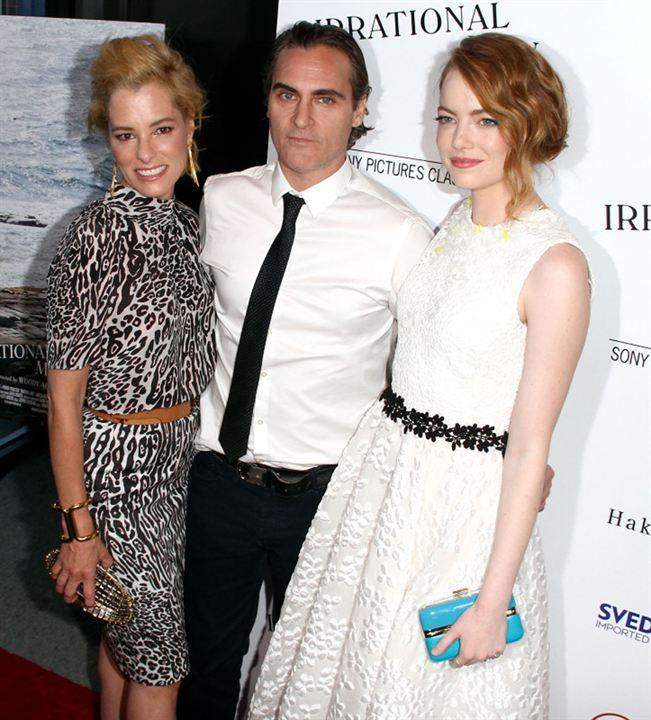 L'Homme irrationnel : Photo promotionnelle Emma Stone, Joaquin Phoenix, Parker Posey