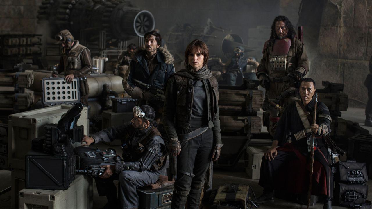 Rogue One: A Star Wars Story: Riz Ahmed, Donnie Yen, Felicity Jones, Diego Luna, Jiang Wen