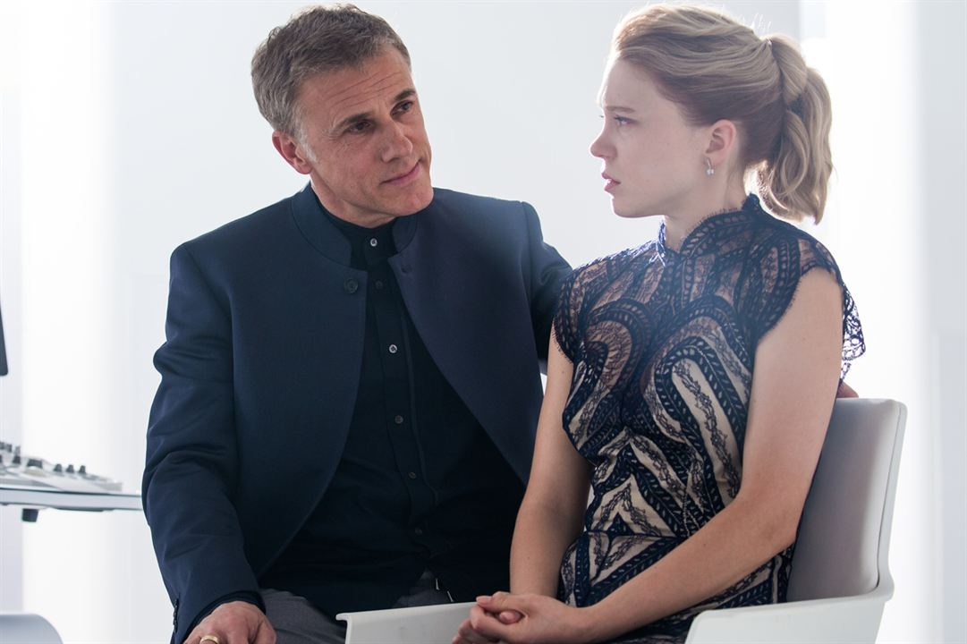 007 Spectre: Christoph Waltz, Léa Seydoux