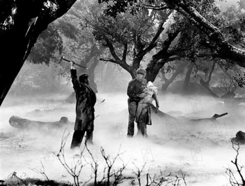Le Loup-Garou : Photo Claude Rains, Lon Chaney Jr.