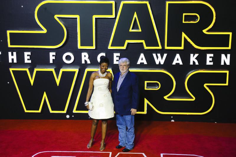 Star Wars - Le Réveil de la Force : Photo promotionnelle George Lucas