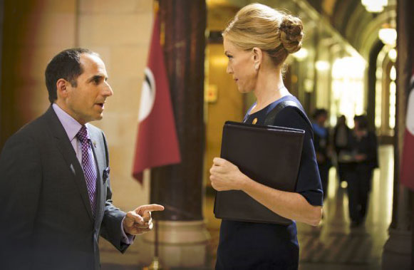 Photo Ally Walker, Peter Jacobson