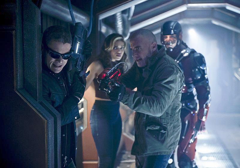 Photo Brandon Routh, Ciara Renée, Dominic Purcell, Wentworth Miller