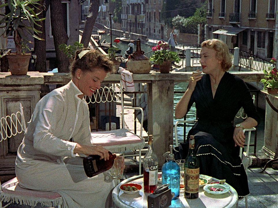Vacances à Venise : Photo Isa Miranda, Katharine Hepburn