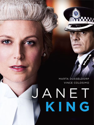 Janet King : Affiche