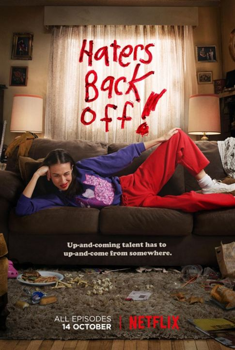 Haters Back Off : Affiche