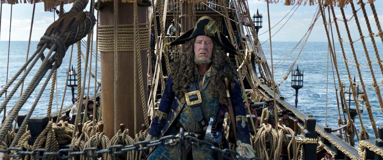 Pirates des Caraïbes : la Vengeance de Salazar : Photo Geoffrey Rush