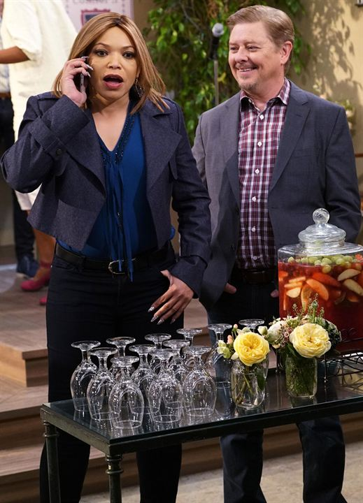 Photo Dave Foley, Tisha Campbell-Martin
