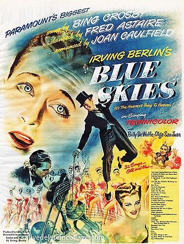 Blue Skies : Affiche