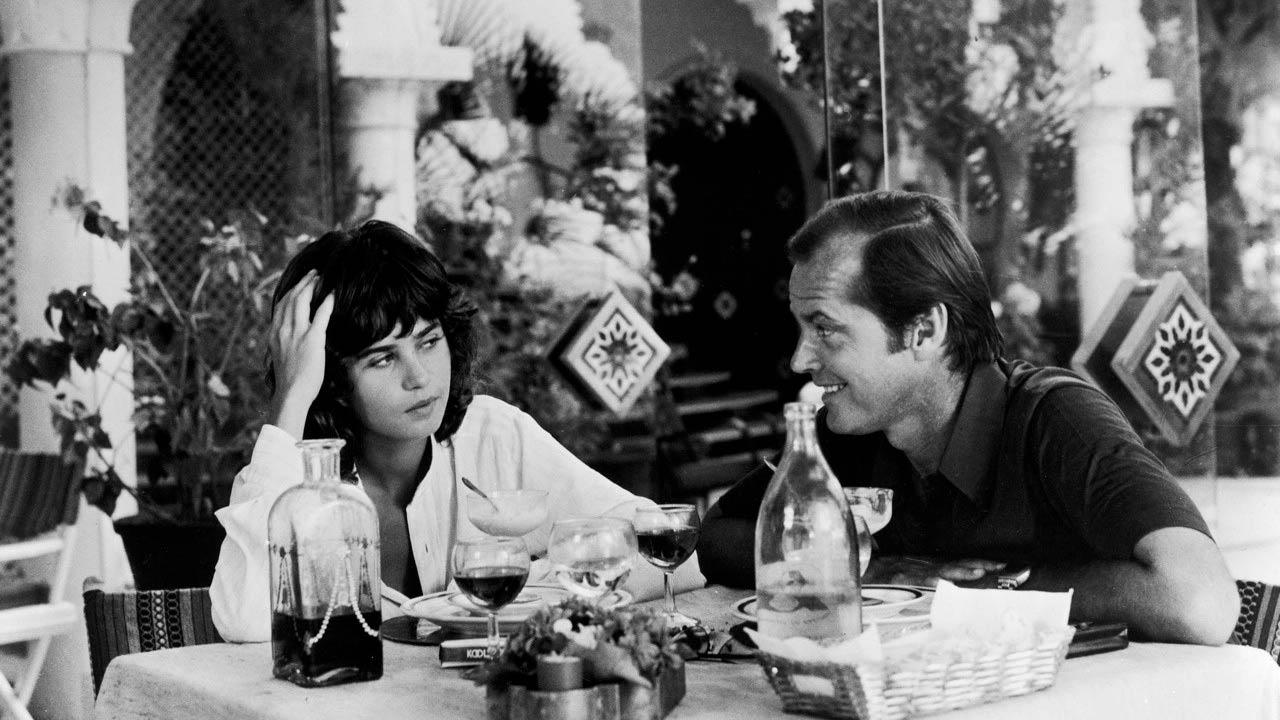 Profession : reporter : Photo Jack Nicholson, Maria Schneider