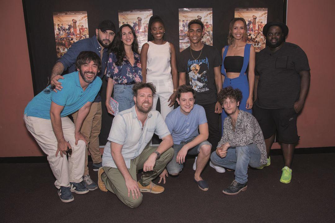 La Colle : Photo promotionnelle Alexandre Achdjian, Alexandre Castagnetti, Arthur Mazet, Grégoire Montana, Issa Doumbia