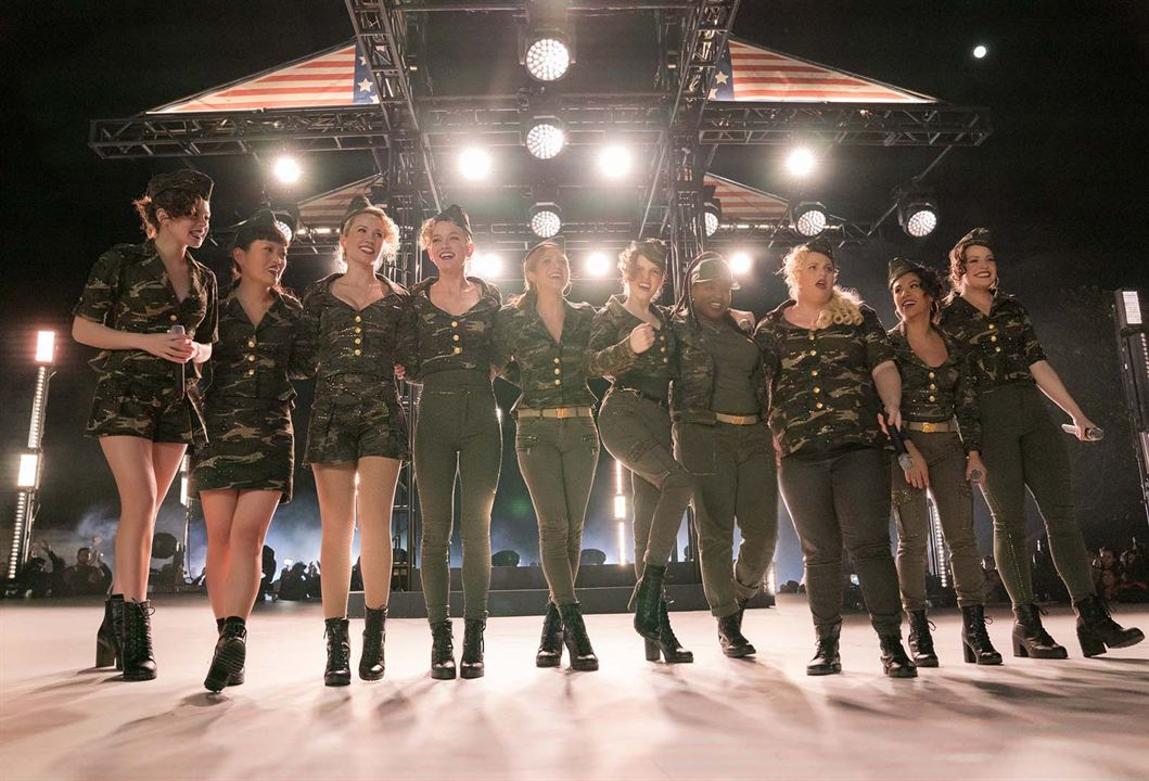 Pitch Perfect 3 : Photo Anna Camp, Anna Kendrick, Brittany Snow, Chrissie Fit, Ester Dean