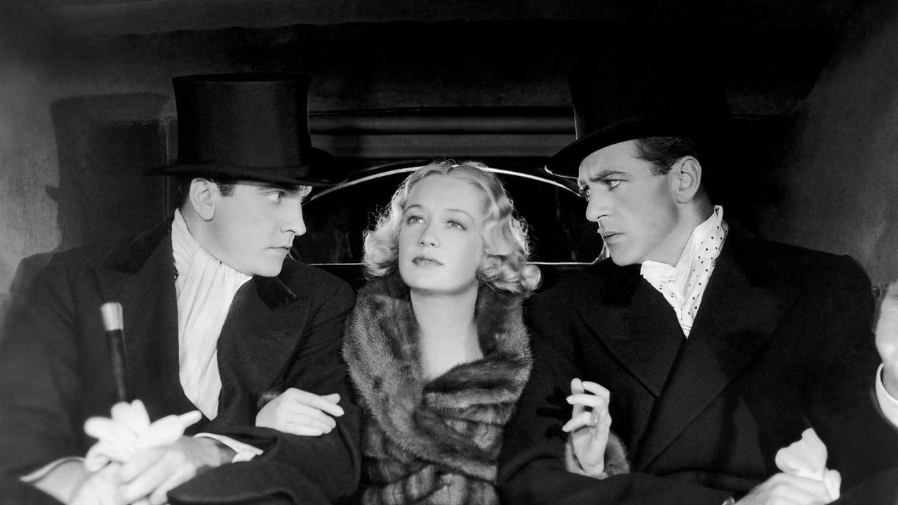 Sérénade à trois: Miriam Hopkins, Gary Cooper, Fredric March