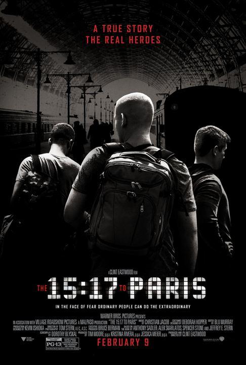 Le 15:17 pour Paris : Affiche