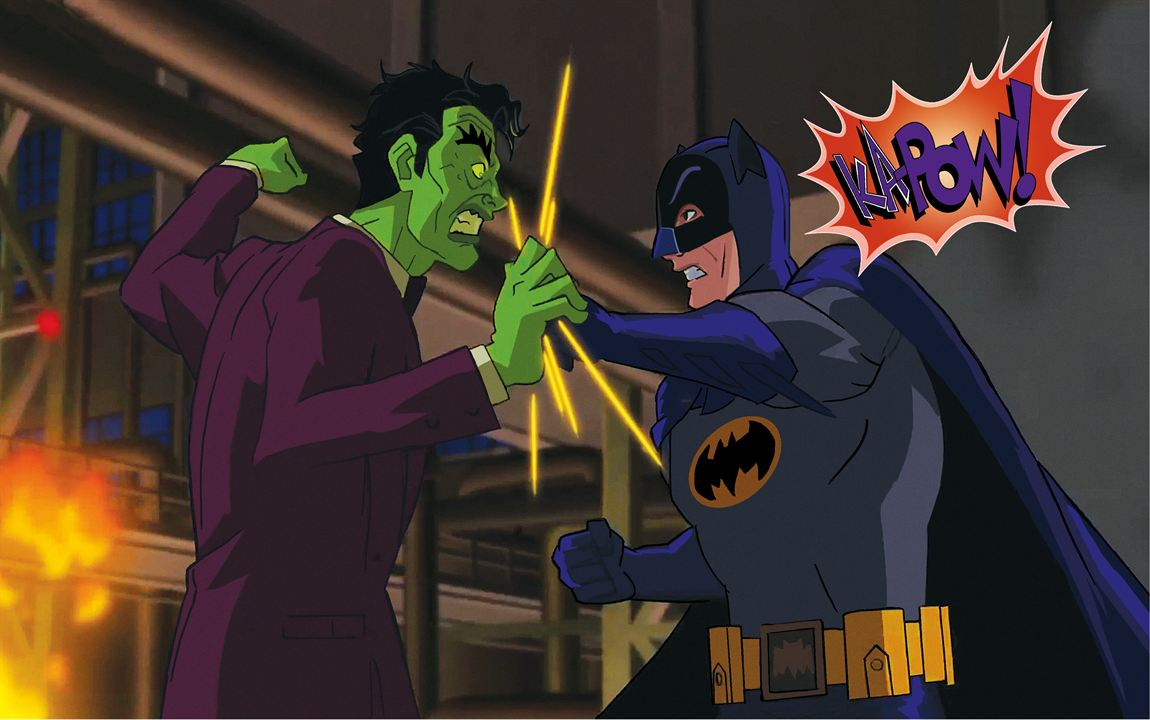 Batman Vs. Two-Face: William Shatner, Adam West