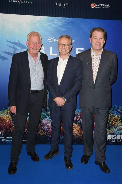 Blue: Keith Scholey, Jean-François Camilleri, Alastair Fothergill