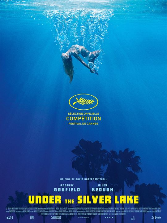 Under The Silver Lake : Affiche