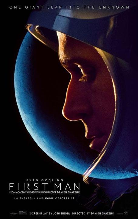 First Man - le premier homme sur la Lune : Affiche