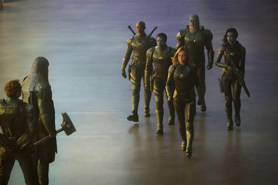 Captain Marvel : Photo Algenis Perez Soto, Brie Larson, Djimon Hounsou, Gemma Chan, Rune Temte