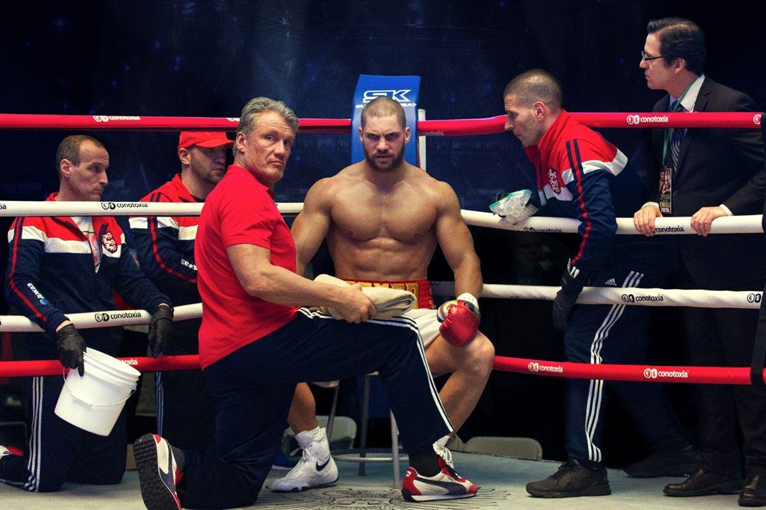 Creed II : Photo Dolph Lundgren, Florian Munteanu