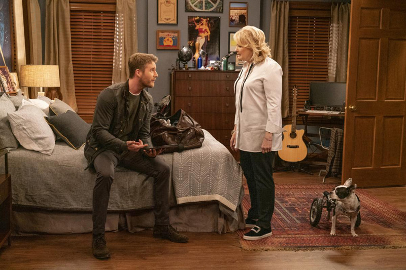 Photo Candice Bergen, Jake McDorman