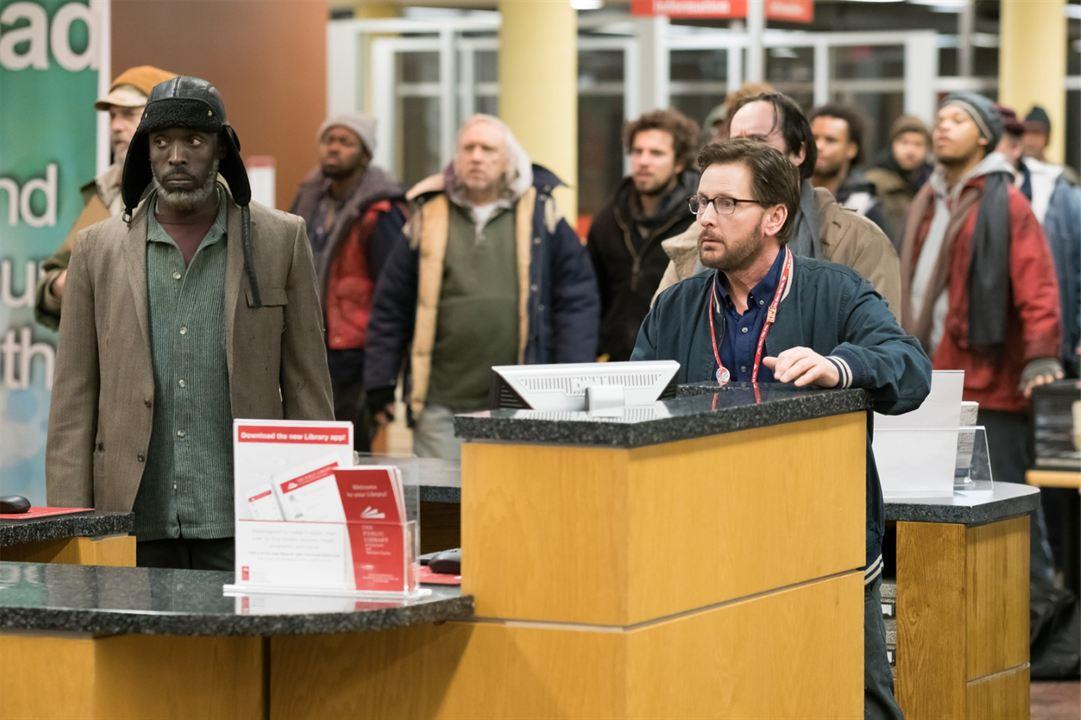 The Public : Photo Emilio Estevez, Michael K. Williams
