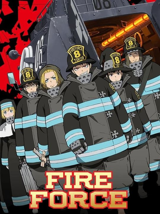 Fire Force : Affiche