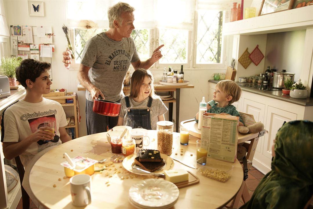 10 jours sans maman : Photo Evan Paturel, Franck Dubosc, Violette Guillon