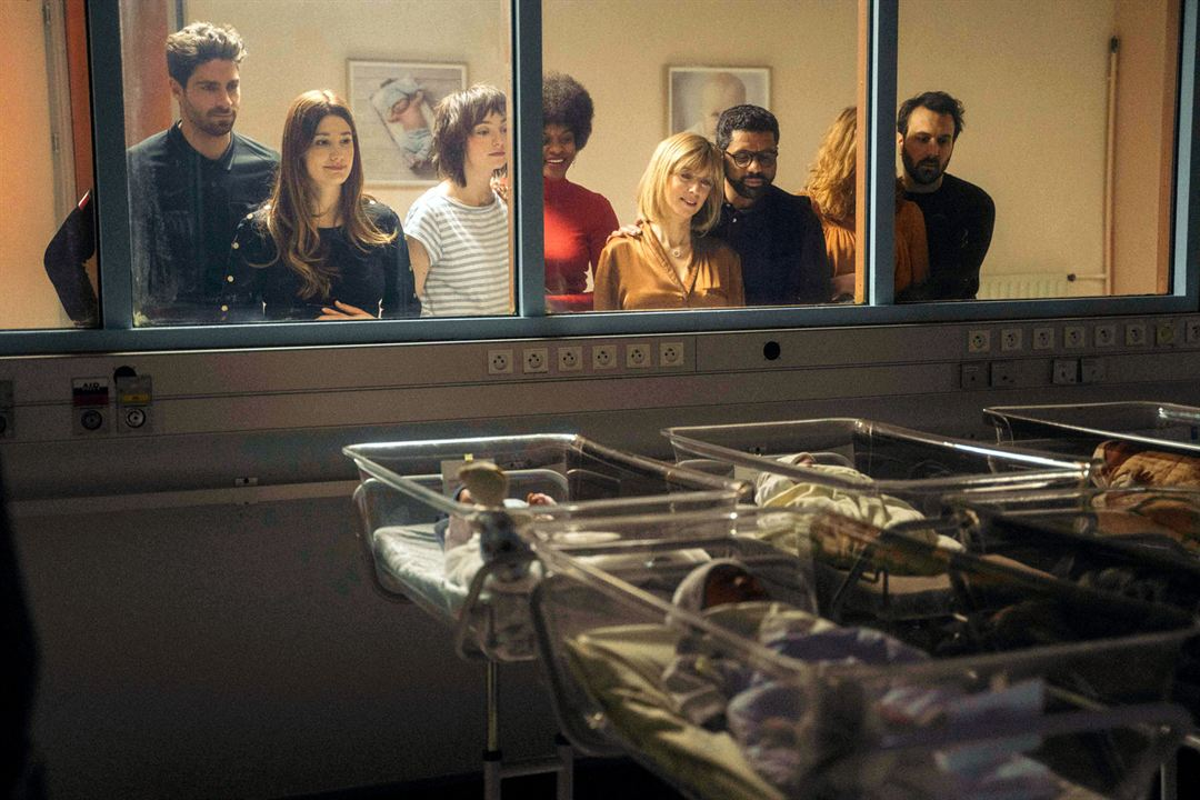 C'est la vie : Photo Alice Pol, Antoine Gouy, Fadily Camara, Léa Drucker, Mélodie Richard