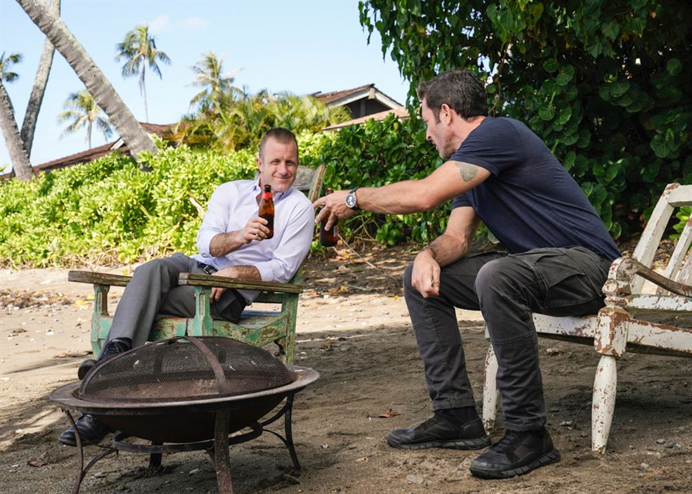 Photo Alex O'Loughlin, Scott Caan